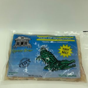 Alligator Meat in packaging